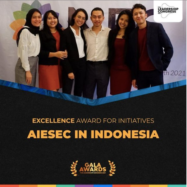 """AIESEC in Indonesia Wins """"Best AIESEC Entity in Asia Pacific"""" and Other Awards"""